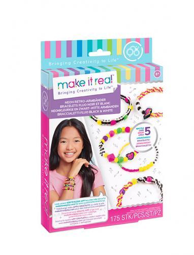 Make it Real: Набор для создания шарм-браслетов «Неоновый стиль»