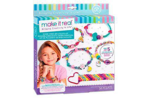 """Make it Real: Набор для создания шарм-браслетов """"Волны позитива"""""""