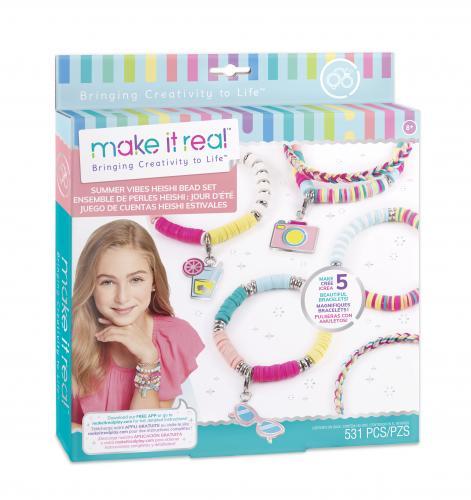 "Make it Real: Набор  для создания шарм - браслетов ""Летние вибрации"""