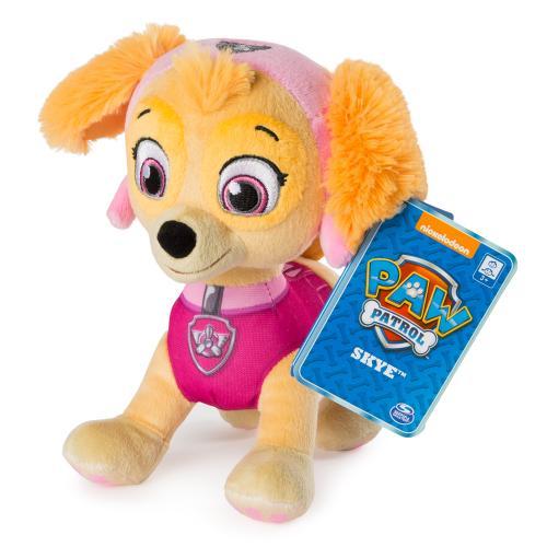 Щенячий патруль: мягкая игрушка - щенок Скай (20 см)