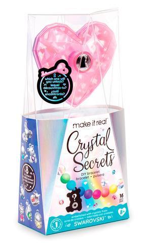 Набор для создания шарм-браслетов «Кристальный секрет» Crystal Secrets