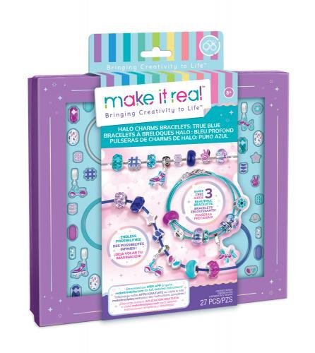 """Make it Real: Набор для создания браслетов """"Голубое сияние"""""""