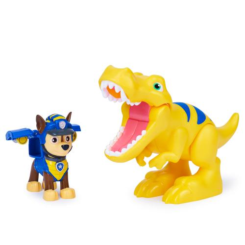 Колекційна фігурка цуценяти з динозавром (серія Діно-місія)