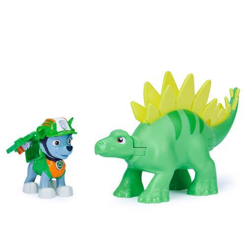 Колекційна фігурка цуценяти Роккі з динозавром (серія Діно-місія)