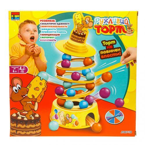 """Настольная игра Kingso Toys """"Движущийся торт"""" (Уценка)"""