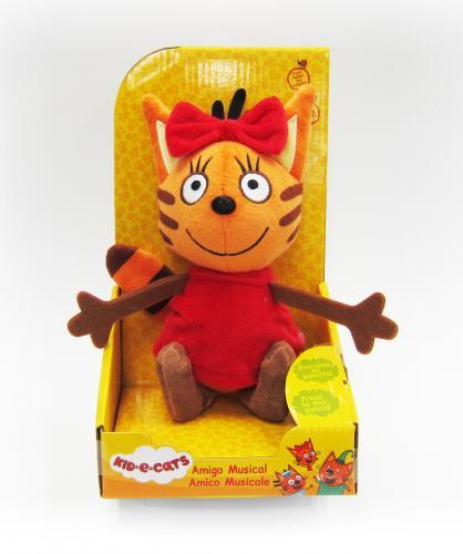 Три кота: мягкая игрушка Карамелька со звуковыми эффектами