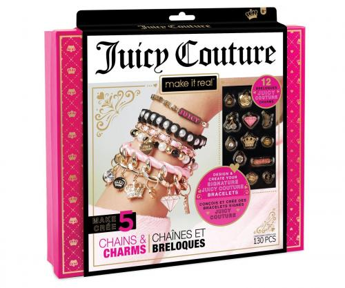 """Juicy Couture: Набор для создания шарм-браслетов """"Королевский шарм"""" (Уценка)"""