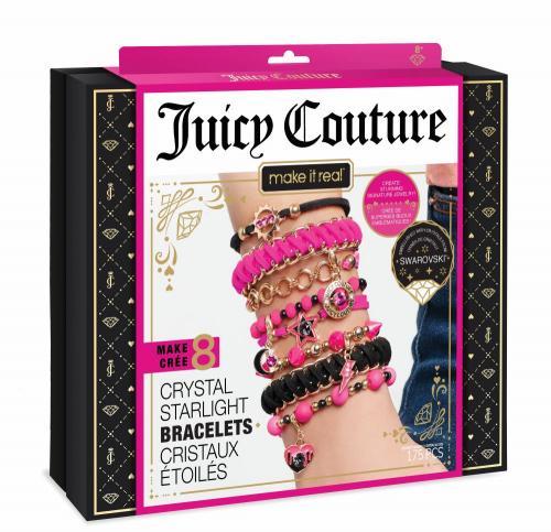 Juicy Couture: Набор для создания браслетов с кристаллами Swarovski «Неоновый блеск» (Уценка)
