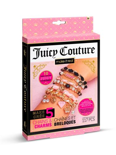 """Juicy Couture: Мини набор для создания шарм-браслетов """"Королевский шарм"""""""