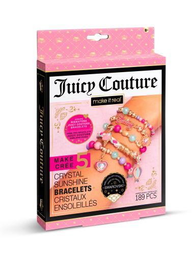 """Juicy Couture: Мини набор для создания шарм-браслетов """"Солнечное сияние"""" с кристаллами Swarovski"""