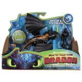 Как приручить дракона 3: набор из дракона Беззубика и всадника Иккинга