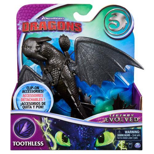 Как приручить дракона 3: коллекционная фигурка дракона  Беззубика с механической функцией