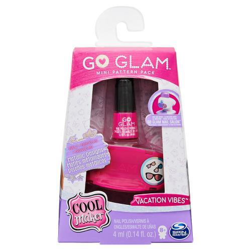 Cool Maker: мини-набор для нейл арта с розовым лаком Go GLAM