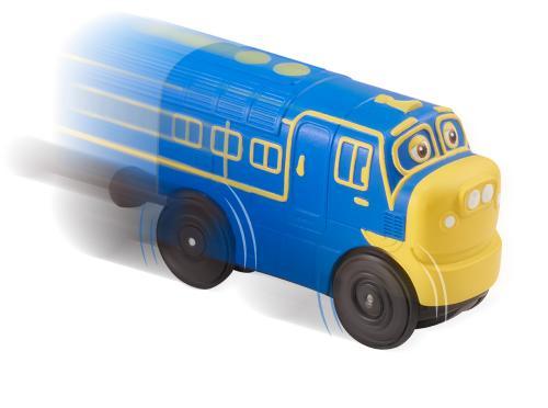 CHUGGINGTON: паровозик Брюстер на батарейках