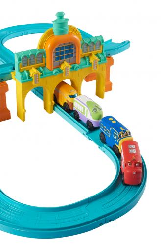 CHUGGINGTON: трек «Залізничне депо» з паровозиком Вілсоном