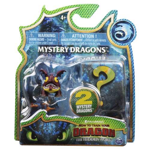 Как приручить дракона 3: набор из дракона Громобоя и тайного героя (Уценка)