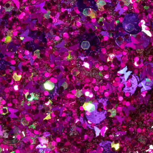 ORB Slimy Xtreme Glitterz: глиттерный слайм фиолетовый (90 г)