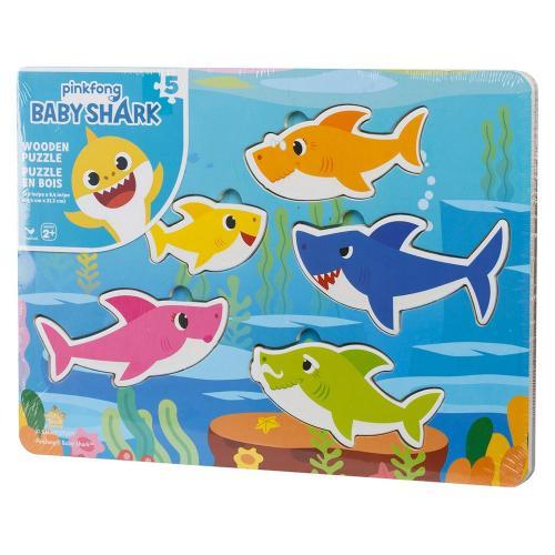 Пазл деревянный «Baby Shark»