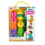 Развивающая игрушка-пирамидка «Яркие яйца»