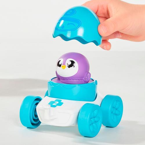 Развивающая игрушка TOMY Моя первая машинка с пингвинчиком (Уценка)
