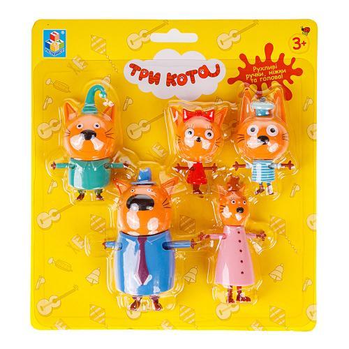 Три кота: игровой набор Семья котят