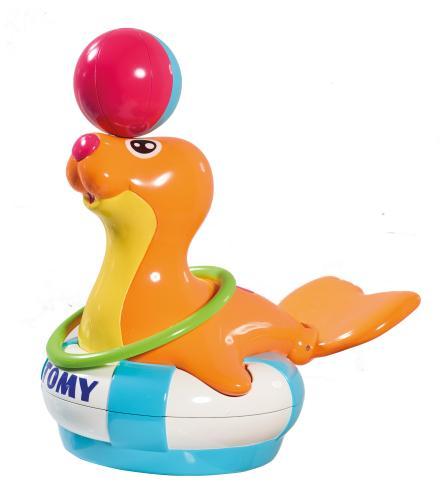 Игрушка для ванной комнаты  «Тюлень Сэнди» (Уценка)