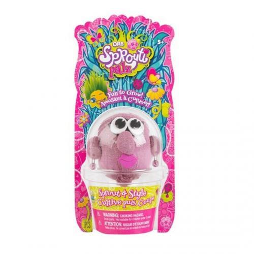 ORB Sprouti Palz: игрушка-травянчик розовый (Уценка)