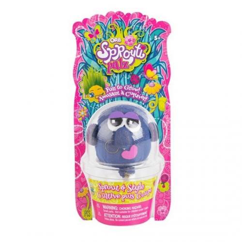 ORB Sprouti Palz: игрушка-травянчик фиолетовый
