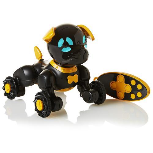 WowWee маленький щенок Чип черный (Уценка)