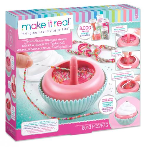 """Make it Real: Набор для создания браслетов """"Сладкие завитки"""""""