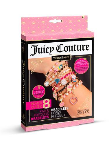 """Juicy Couture: Мини набор для создания шарм-браслетов """"Розовый звездопад"""""""
