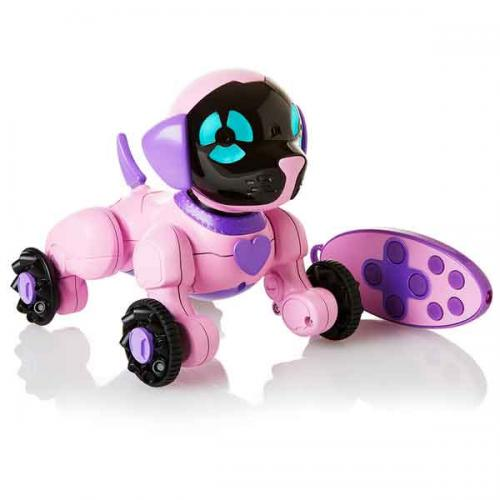 WowWee маленький щенок Чип розовый (Уценка)